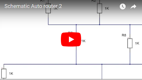 Schematic Auto router 2