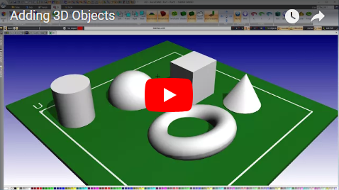 Adding 3D Objects