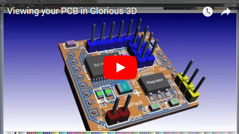Viewing your PCB in Glorious 3D