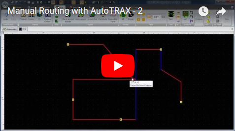 Manual Routing with DEX-PCB - 2