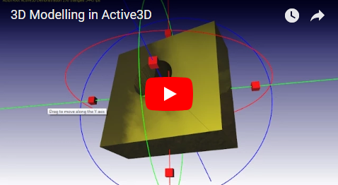 3D Modelling in Active3D