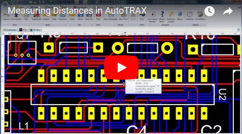 Measuring Distances in DEX-PCB