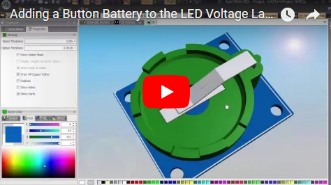 Adding a Button Battery to the LED Voltage Ladder