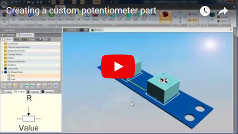 Creating a custom potentiometer part