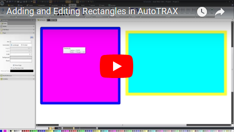 Adding and Editing Rectangles