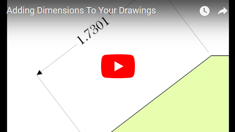 Adding Dimensions To Your Drawings