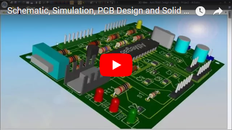 Schematic, Simulation, PCB Design and Solid Modeling