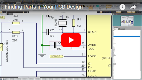 Finding Parts in Your PCB Design