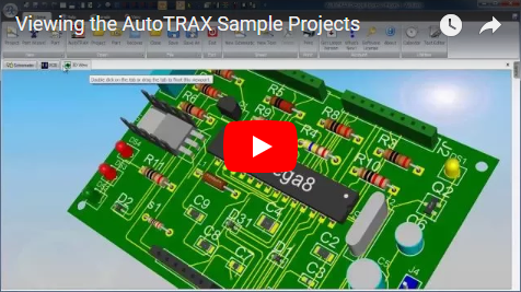 Viewing the DEX-PCB Sample Projects