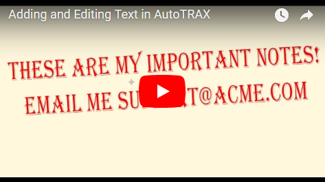 Adding and Editing Text