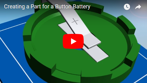 Creating a Part for a Button Battery