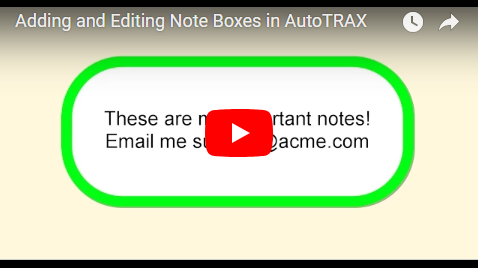 Adding and Editing Note Boxes